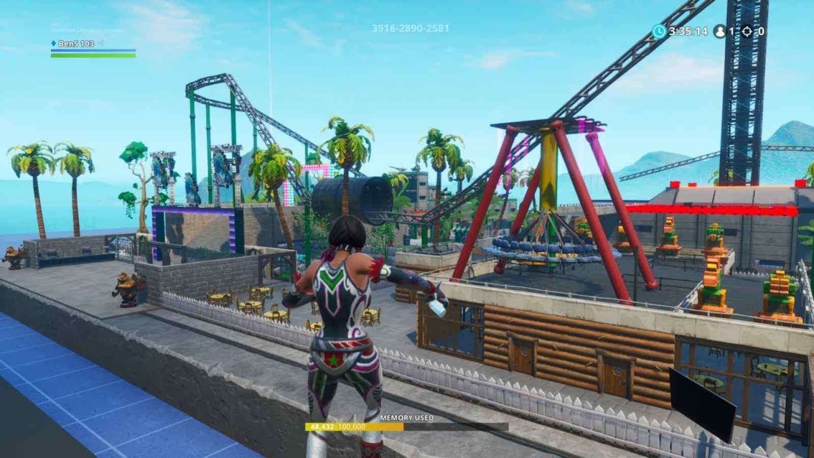 Fortnite Theme Park: Neuer kreativer Kartencode und alles darüber