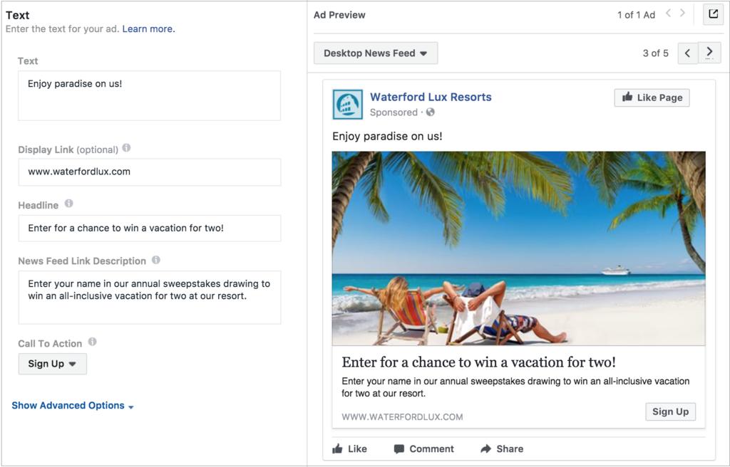 So erstellen Sie Facebook-Lead-Anzeigen