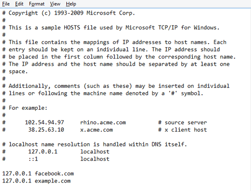 wie-blockieren-websites-on-chrome-hosts-file-windows