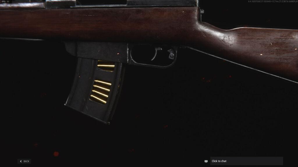 Magazin über Vanguard itra Burst Rifle