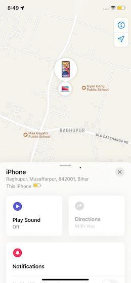 Überprüfen Sie den Standort Ihres iPhones - So finden Sie Ihr verlorenes iPhone