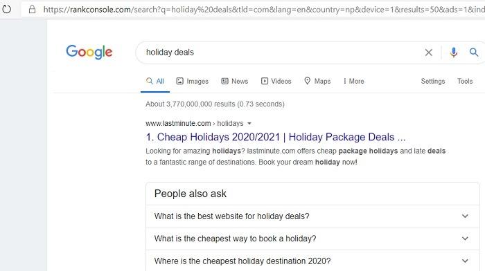 Anonymisieren Sie die Google Rank Console-Ergebnisse 1
