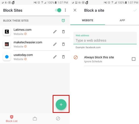 Block-Site