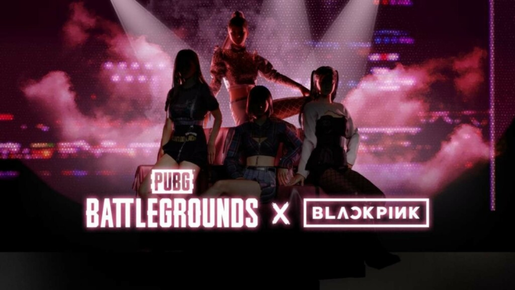 PUBG PC x BLACKPINK: Fotoshooting-Hashtag-Event