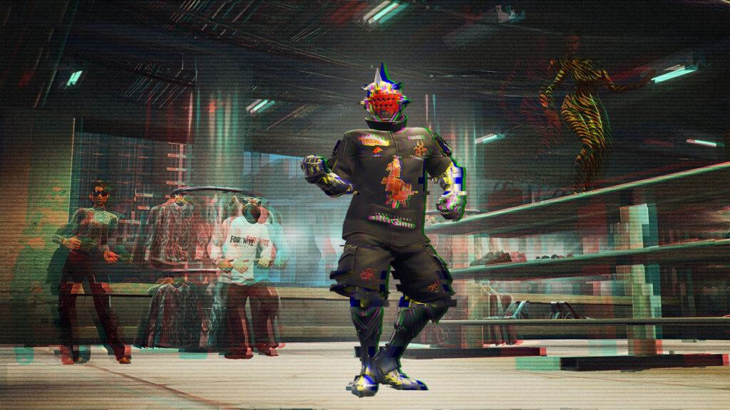 Fortnite Balenciaga Game Knights-Outfit