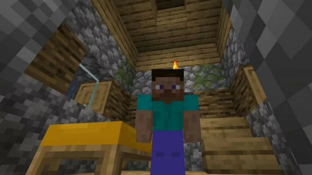 Fluch des Verschwindens in Minecraft