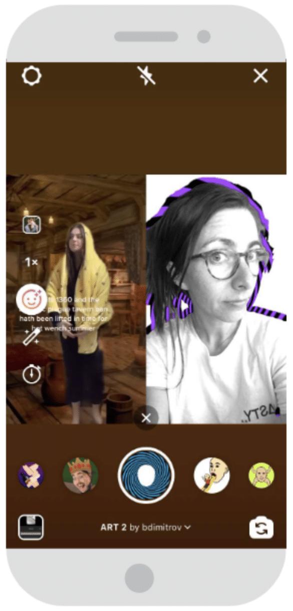 Remixen eines bestehenden Reels auf Instagram