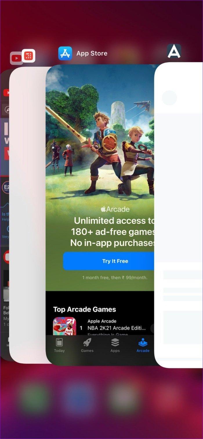 Neuer App-Umschalter