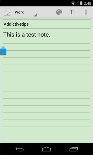 Notes_Editor synchronisieren