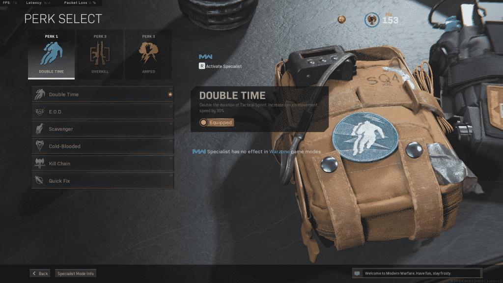doppelter Zeitvorteil in Call of Duty Warzone