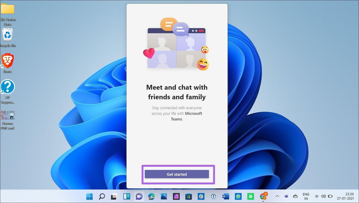 Beginnen Sie mit dem Chat in Windows 11