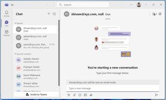 Chat-App in Windows 11