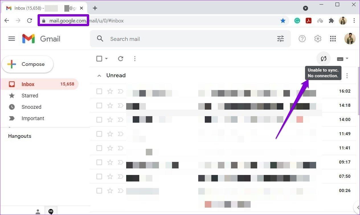 Gmail-Offline-Modus