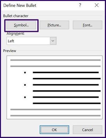 Tick-Symbole in Microsoft Word Schritt 18 einfügen