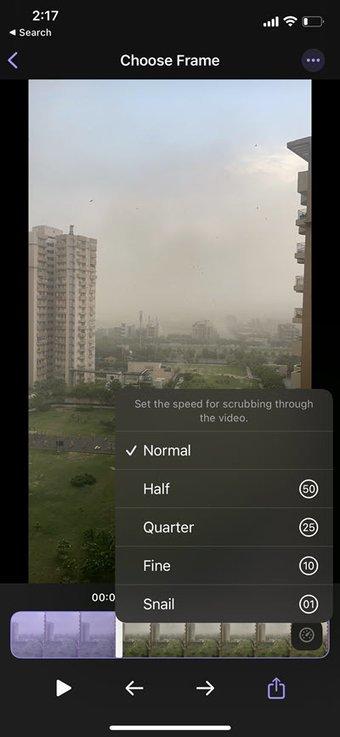 So erhalten Sie Standbilder von iPhone-Videos 6