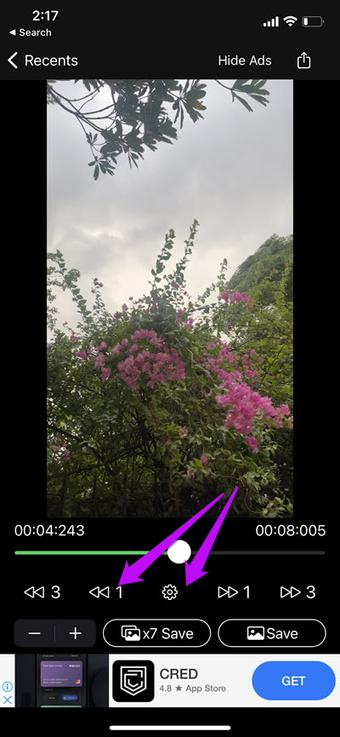 So erhalten Sie Standbilder von iPhone-Videos 3