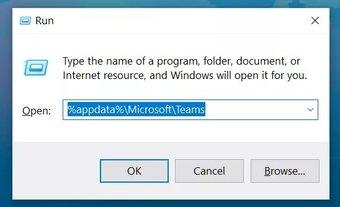 Menü ausführen in Microsoft-Teams