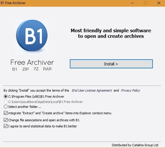 B1 Kostenloser Archiver