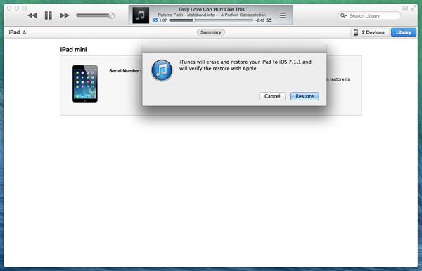Downgrade-iOS8-auf-iOS7-Wiederherstellung