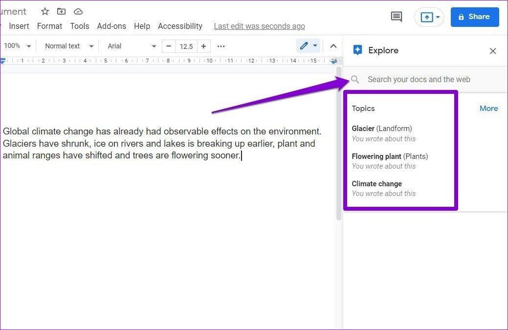 In Google Docs erkunden