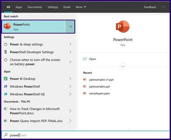 Verfolgen Sie Änderungen in Microsoft Powerpoint Schritt 1
