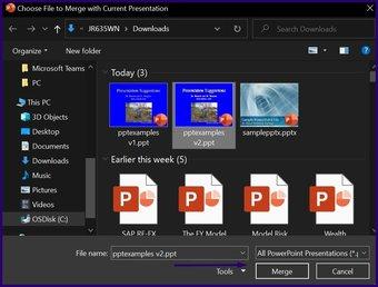Verfolgen Sie Änderungen in Microsoft Powerpoint Schritt 4