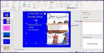 Verfolgen Sie Änderungen in Microsoft Powerpoint Schritt 8