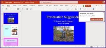 Verfolgen Sie Änderungen in Microsoft Powerpoint Schritt 11