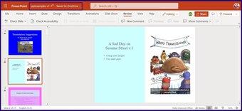 Verfolgen Sie Änderungen in Microsoft Powerpoint Schritt 15
