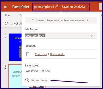 Verfolgen Sie Änderungen in Microsoft Powerpoint Schritt 16
