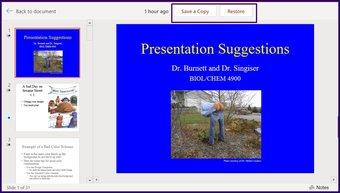 Verfolgen Sie Änderungen in Microsoft Powerpoint Schritt 18