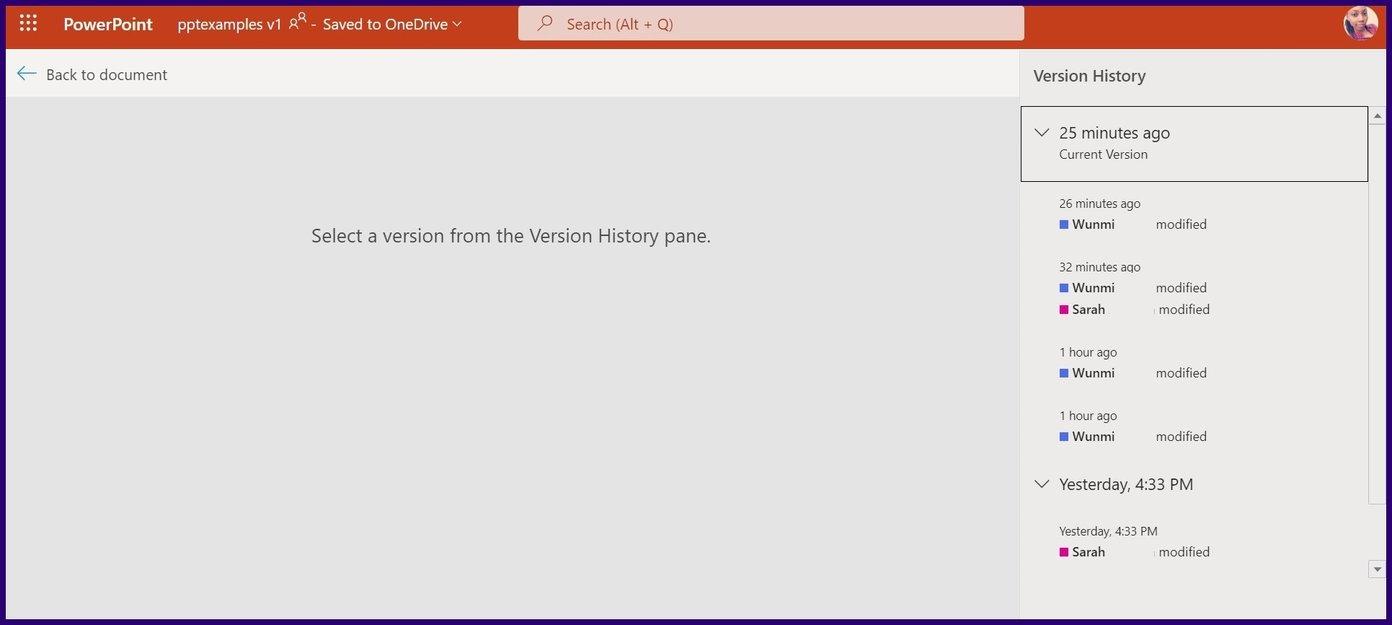 Verfolgen Sie Änderungen in Microsoft Powerpoint Schritt 17