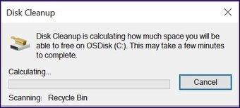 Löschen Sie alte Sicherungsdateien Windows 10 Schritt 13