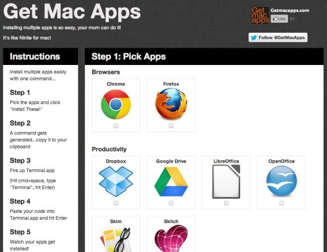 Holen Sie sich Mac-Apps