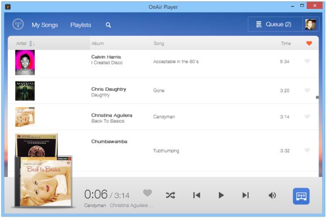 OnAir Player_Windows