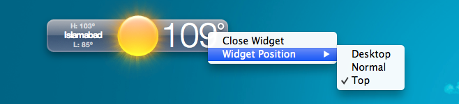 WidgetRunner-Position