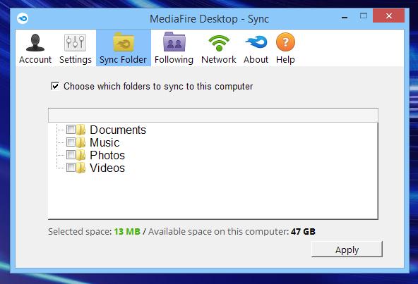 MediaFire_Sync
