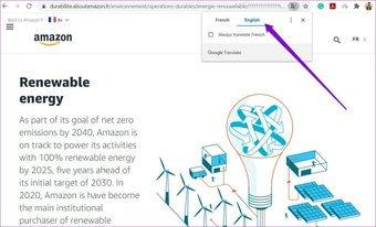 Webseite in Chrome übersetzen