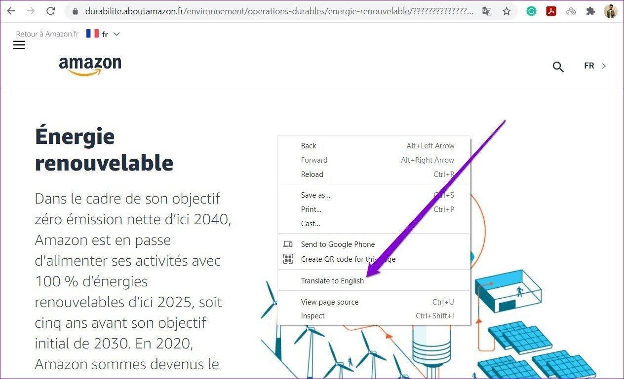 Webseite in Google Chrome manuell übersetzen