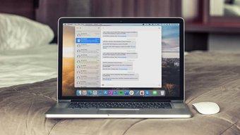 Nachrichten-App auf dem Mac