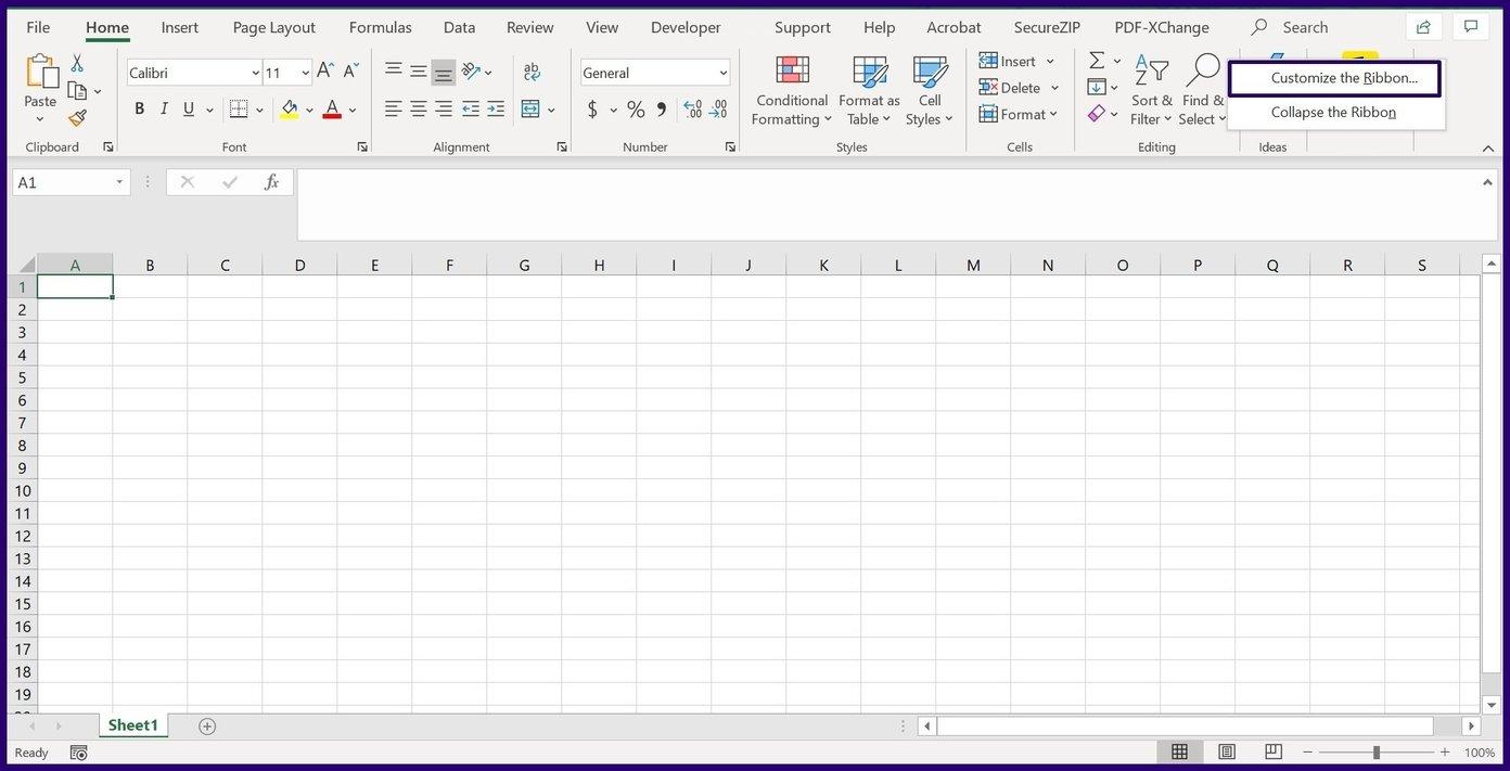 Verfolgen Sie Änderungen in Microsoft Excel Schritt 2