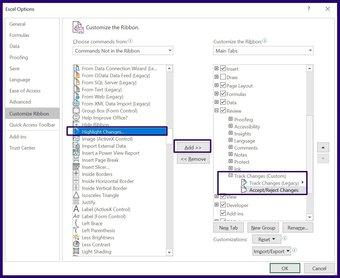 Verfolgen Sie Änderungen in Microsoft Excel Schritt 13