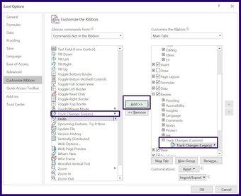 Verfolgen Sie Änderungen in Microsoft Excel Schritt 12
