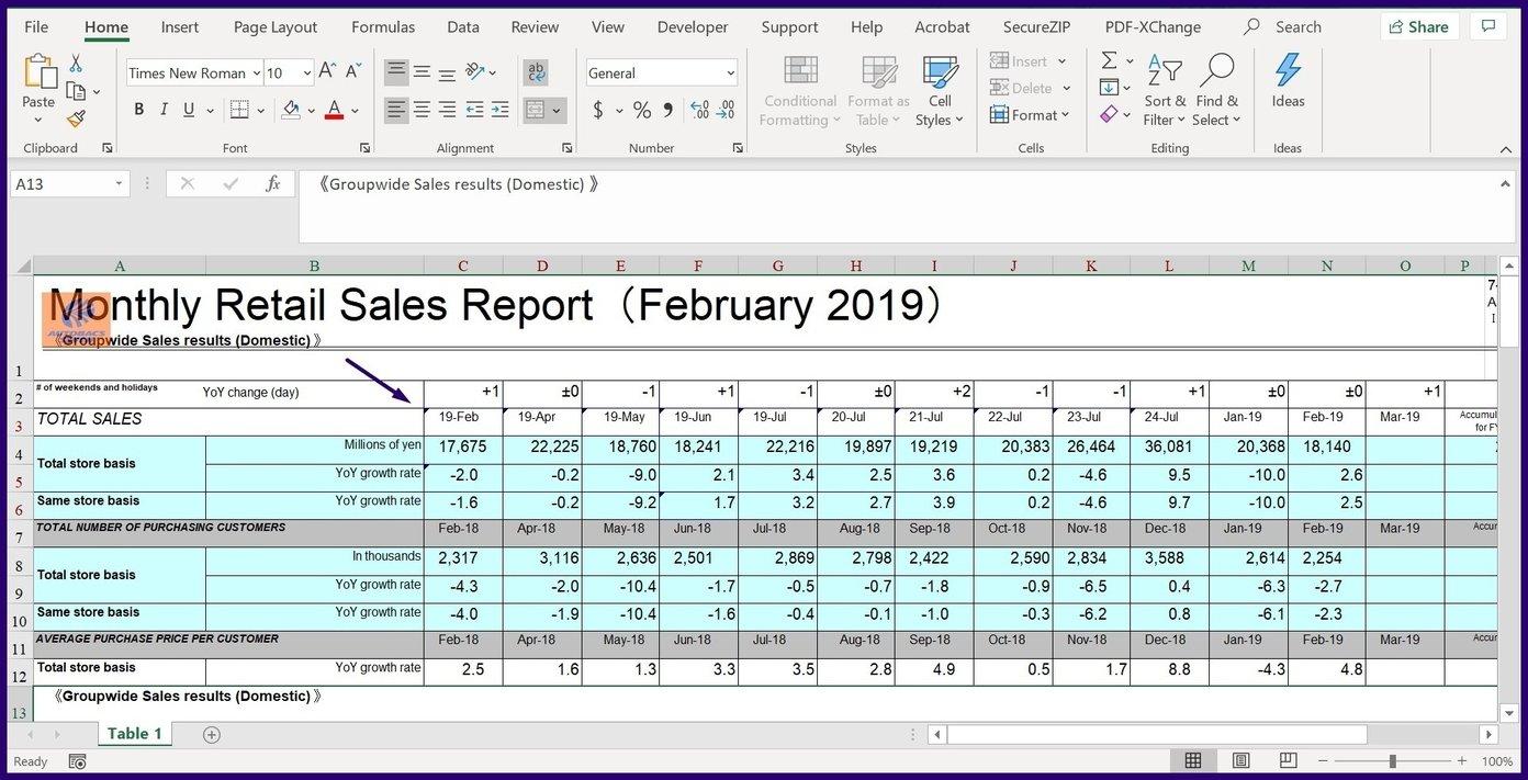 Verfolgen Sie Änderungen in Microsoft Excel Schritt 22