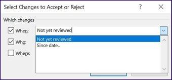 Verfolgen Sie Änderungen in Microsoft Excel Schritt 26
