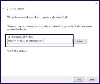 Schließen Sie eingefrorene Apps unter Windows 10 Schritt 11