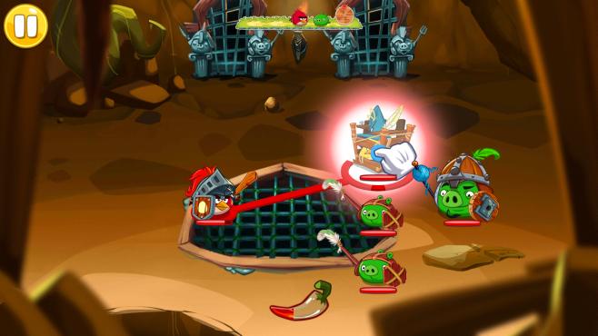 Angry Birds Epic freier Vogel