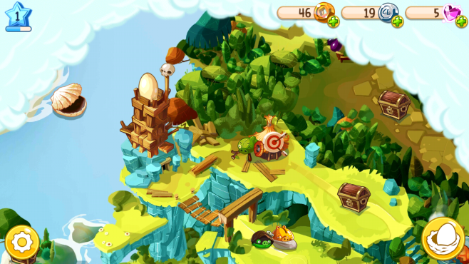 Angry Birds epische Karte