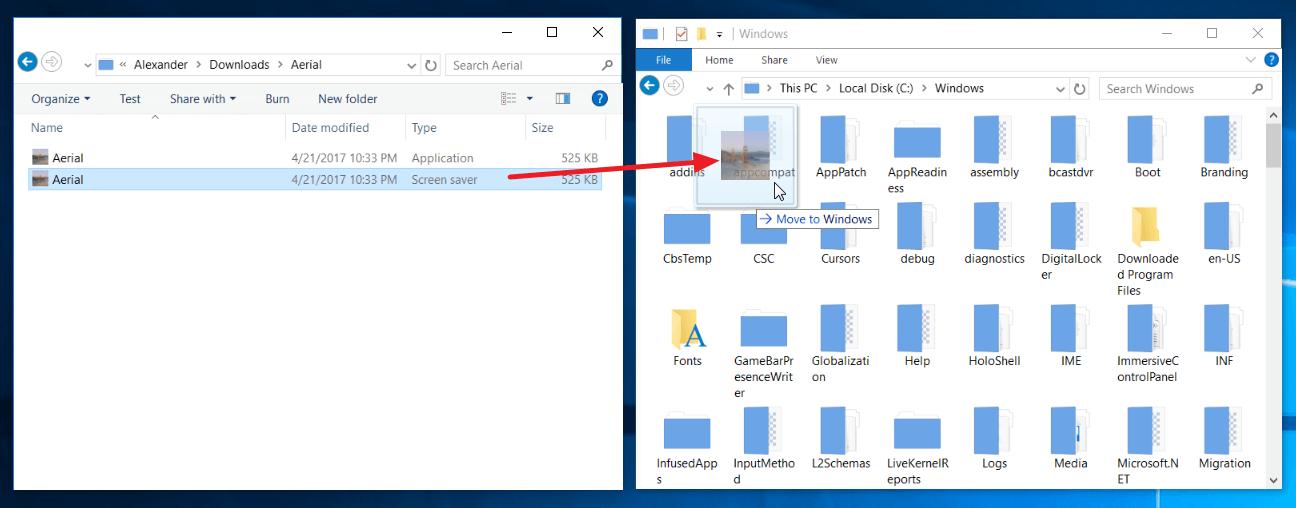 Luftbild-Bildschirmschoner-Windows-10-002
