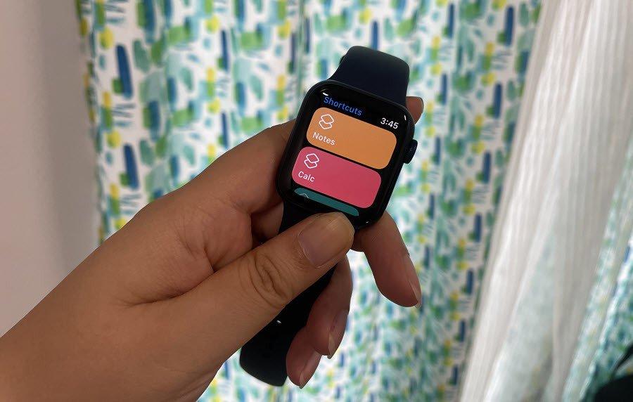 So fügen Sie Verknüpfungen zur Apple Watch 6 hinzu